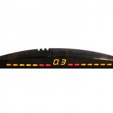 Парковочный радар 0380093000 8 датчиков, цвет - чёрный
