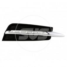 Комплект светодиодных ходовых огней CHEVROLET CRUZE 2009-2012 Тип C чер.без птф(с реле управления)