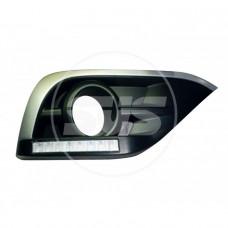 Комплект светодиодных ходовых огней HONDA CRV 2012+ Тип А(с реле управления)ХРОМ