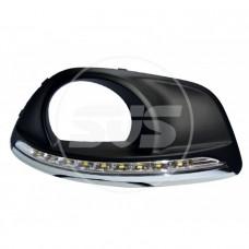 Комплект светодиодных ходовых огней HYUNDAI SANTA FE 2010-2012(с реле управления)