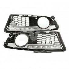 Комплект светодиодных ходовых огней BMW E90 M-TECH(с реле управления)