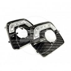 Комплект светодиодных ходовых огней BMW X6(с реле управления)