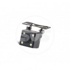 Камера заднего вида универсальная на кронштейне с LED подсветкой, матрица CMOS, угол обзора 170, питание 12В, парк линии