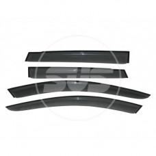 """Дефлекторы окон комплект Acura MDX II 2006-2010/II Рестайлинг 2010-2013 """"SVS"""""""