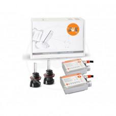 Комплект ксенонового оборудования (Блок  AC 9-16В 35Вт-2шт, Лампа БИКСЕНОНОВАЯ AC HB5 4300K-2шт)