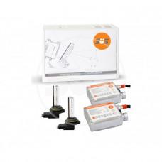Комплект ксенонового оборудования (Блок  AC 9-16В 35Вт-2шт, Лампа ксеноновая AC 9012 6000K-2шт)