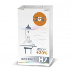 Лампа галогенная H7 55W PX26d +30%