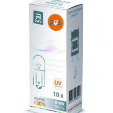 SVS. Лампа накаливания 0200043000 24V R10W 10W BA15s