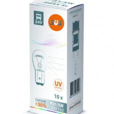 SVS. Лампа накаливания 0200045000 24V P21/5W BAY15d