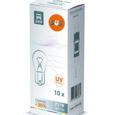 SVS. Лампа накаливания 0200046000 24V P21W BA15s