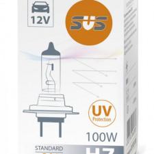 SVS. Лампа галогенная 0200050000 H7 12V 100W PX26d Standard +30%