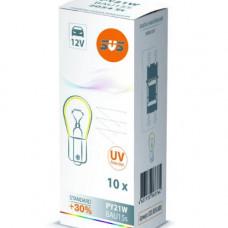 SVS. Лампа накаливания 0200054000 12V PY21W BAU15s AMBER