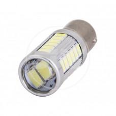 Комплект светодиодных ламп 1156- 30SMD 5630 + 1*3Вт, Белый с линзой
