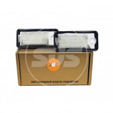 Комплект светодиодной подсветки номера A3,A4\S4 B6,A6,S6,A8,Q7,RS4, RS6