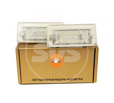 Комплект светодиодной подсветки номера BMW MINI COOPER (R50l,R52,R53)