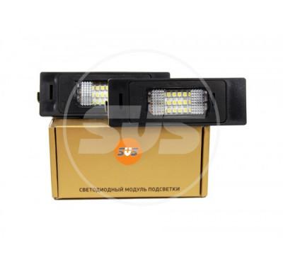 Комплект светодиодной подсветки номера BMW(E81,E87,E87N,E85,E86,E63,E63N,E64(M6),E64N)