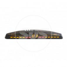 Парковочный радар SVS LED-013-4 4 датчика Чёрный