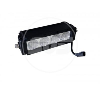 Светодиодная балка SVS, мощность: 40 Вт, кол-во диодов: 4, рабочее напряжение: 9-30 В, размер: 311х105х96 мм, световой поток: 3400 Лм, тип светодиодов: CREE, пылевлагозащищенность: IP 67.