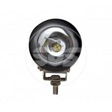 Светодиодная фара SVS 15W/12-60V DC (1*15W CREE) IP67 (93*93*70mm) дальн/свет (белый корп)