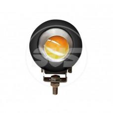 Светодиодная фара SVS 20W/12-60V DC (1*20W CREE) IP67 (106*106*70mm) дальн/свет (черный корп.)