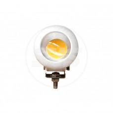 Светодиодная фара SVS 20W/12-60V DC (1*20W CREE) IP67 (106*106*70mm) дальн/свет (белый корп)
