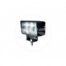 Светодиодная фара SVS 18W/12-30V DC (6*3W Epistar) IP67 (110*60*56mm) дальн/свет