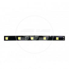 Светодиодная влагозащищенная лента 30 см 0603-15SMD Желтая