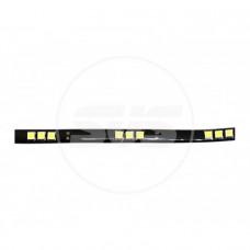 Светодиодная влагозащищенная лента 30см 5050-12SMD Желтая