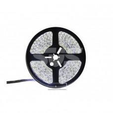 Светодиодная влагозащищенная лента, 3528,120LEDs/M,9.6W/M,12V DC,IP65 5M- бобина Белая