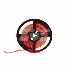 Светодиодная лента,3528,60LEDs/M,4.8W/m, IP30,12V DC - бобина Красная