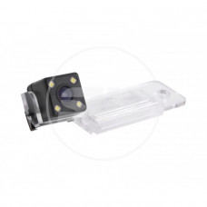 Камера заднего вида штатная с LED AUDI A3{2009-2011}/A4{-2007}/A6/A8/Q7 матрица CMOS, угол обзора 170, питание 12В, парк линии