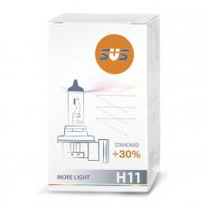 Лампа галогенная H11 55W PGJ19-2 +30%