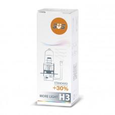 Лампа галогенная H3 55W PK22s +30%
